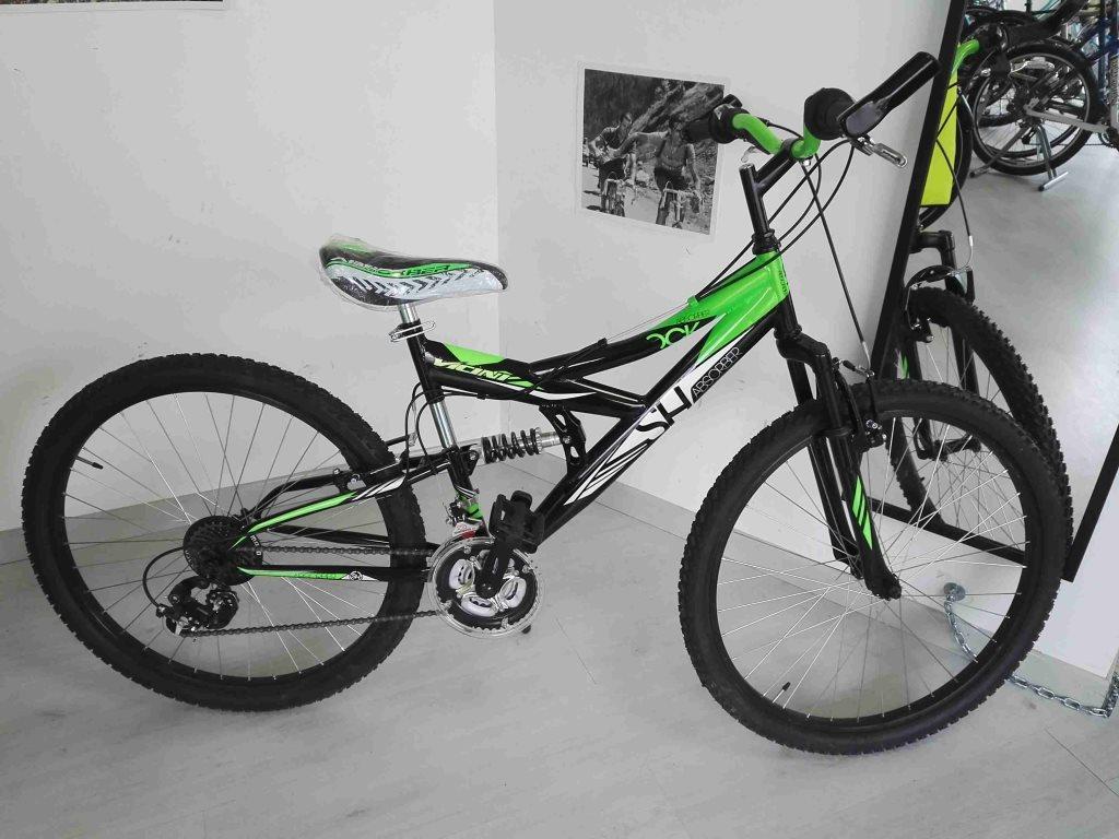 Mancini Sas Bici Mountain Bike Vicini Mtb 26 Biammortizzata